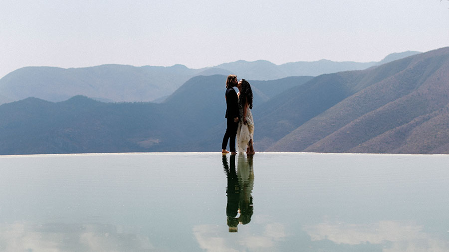 hierbe el agua couple session